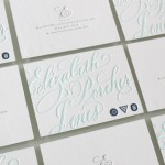 Elizabeth Porcher Jones: Wedding Calligraphy